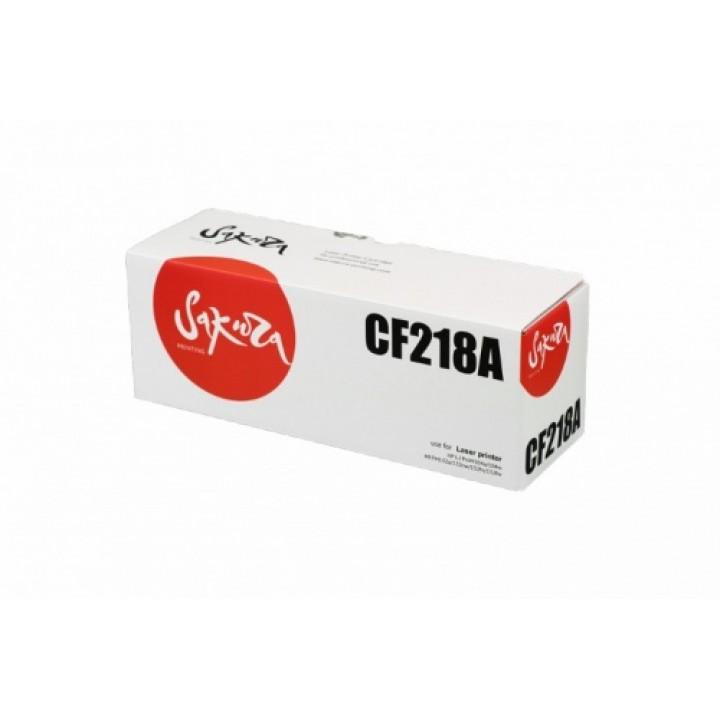 CF218A (Bk) Картридж для HP совместимый SAKURA