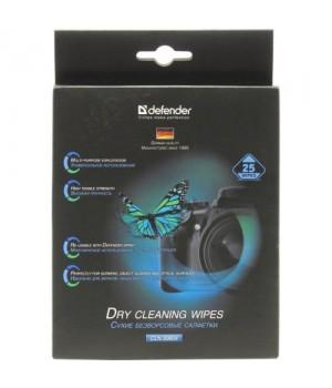 CLN30604 Салфетки Defender для мониторов сухие 25шт