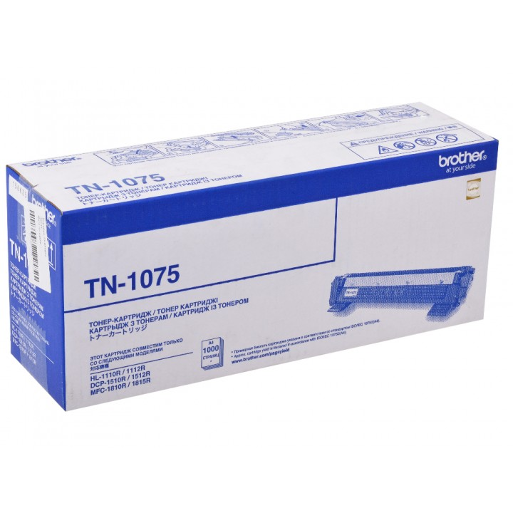 TN-1075 Картридж BROTHER оригинальный