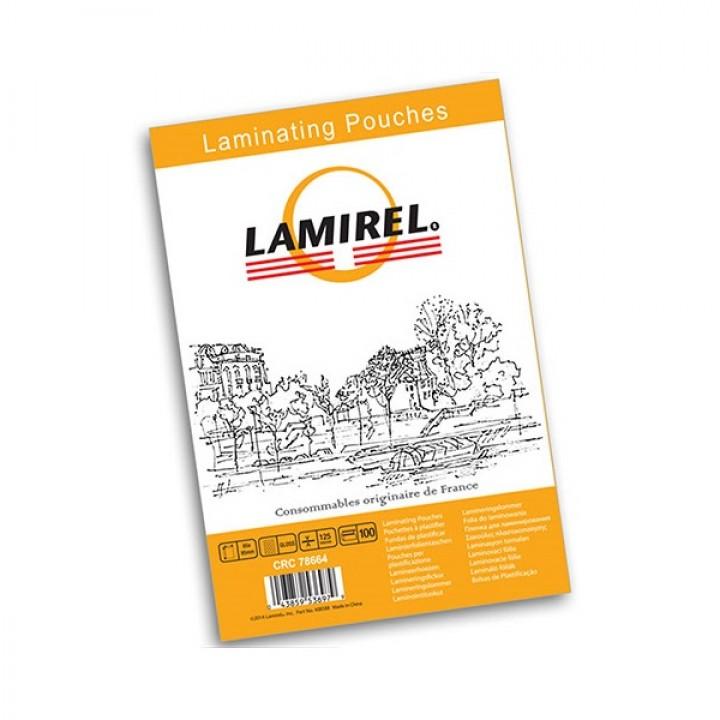 LA-78661 Пленка для ламинирования Lamirel, А5/125мкм/100 л