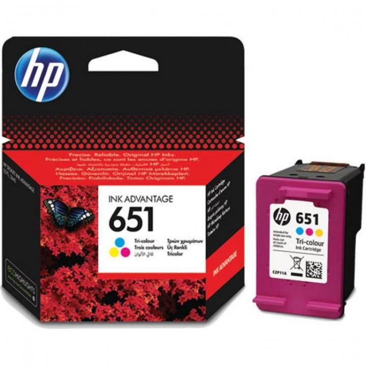 C2P11AE №651 (C) Картридж HP оригинал