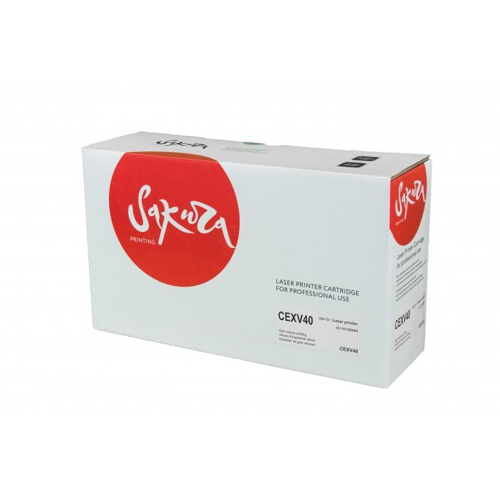 C-EXV40 (Bk) Тонер-туба для CANON совместимый Sakura