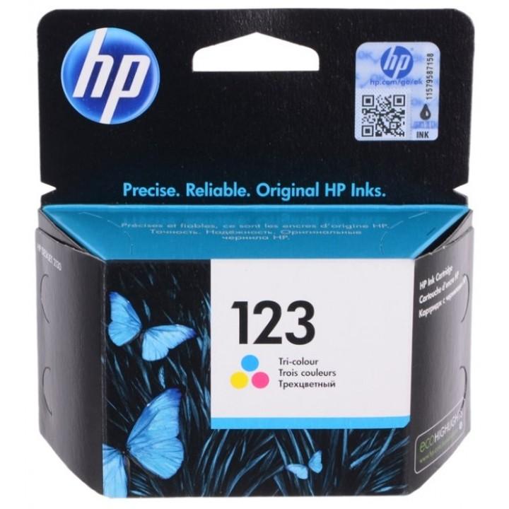 F6V16AE №123 (Color) Картридж HP оригинал