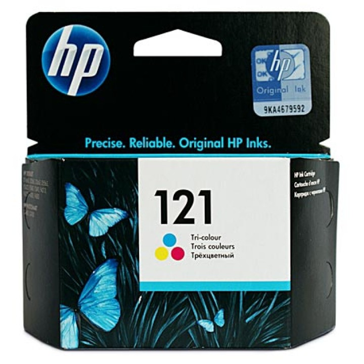 CC643HE №121 (Color) Картридж HP оригинальный