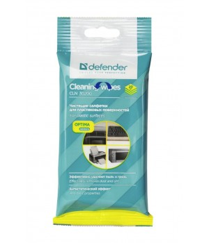 CLN30200 Салфетки Defender Eco 20 шт., универсальные мяг уп