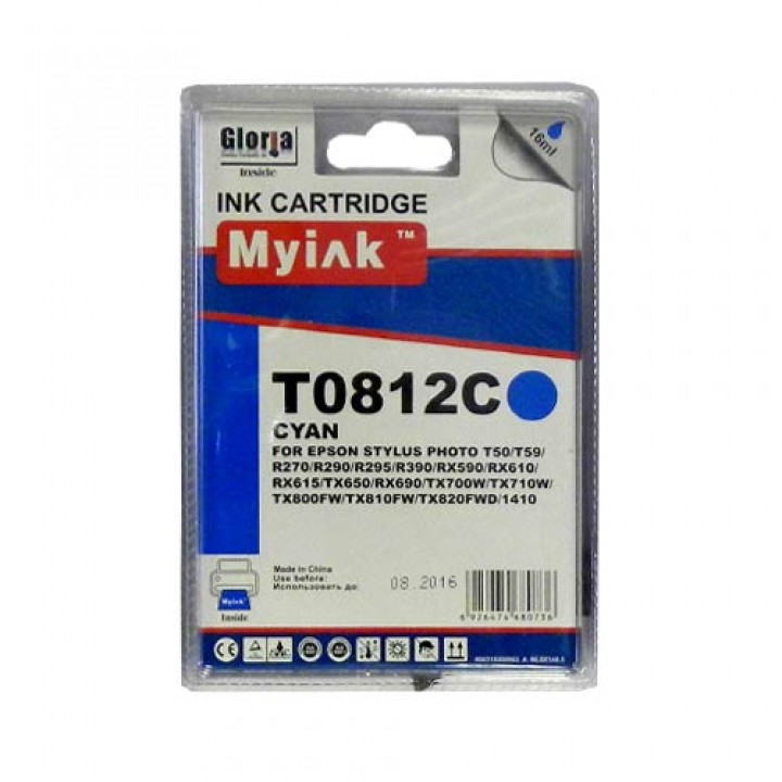 T0822/812 (C) Картридж для EPSON совместимый MyInk