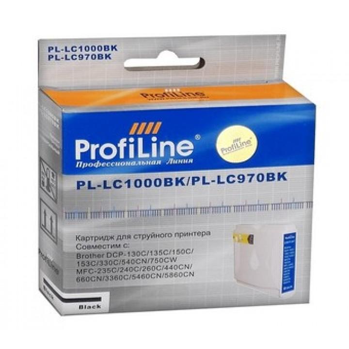 LC-1000 Bk/LC970Bk Картридж для BROTHER совместимый ProfiLine