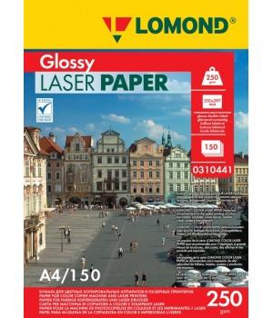 0310441 Фотобумага Lomond двухсторонняя Глянцевая A4/170г*м2/150л для лазерной печати