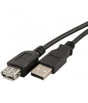 Кабель Defender USB 2.0 AM/AF (удлинительный), пакет, 1.8м