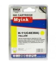 C4838A №11 (Y) Картридж для HP совместимый MyInk