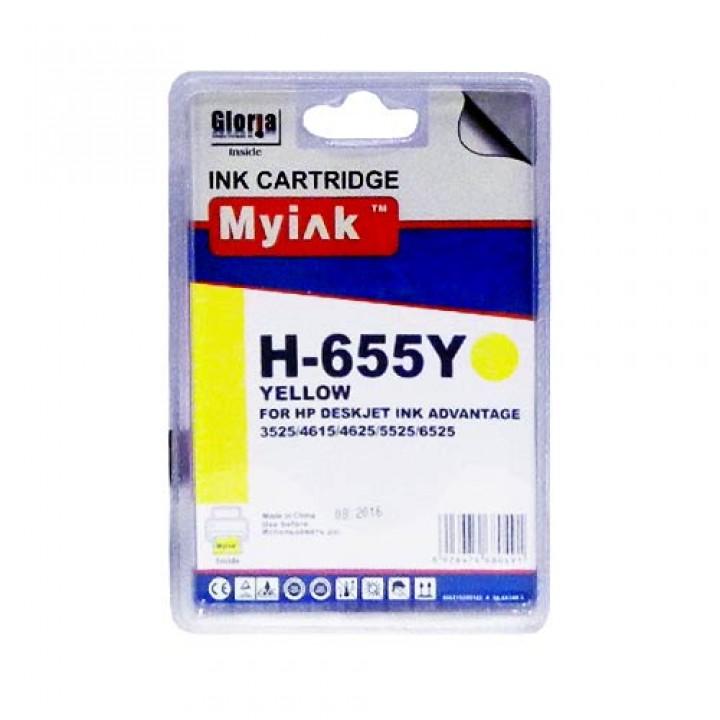 CZ112AE №655 (Y)  Картридж для HP совместимый Mylnk